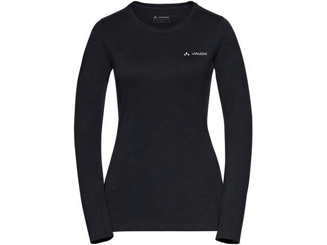 VAUDE Sveit LS Shirt Dam black